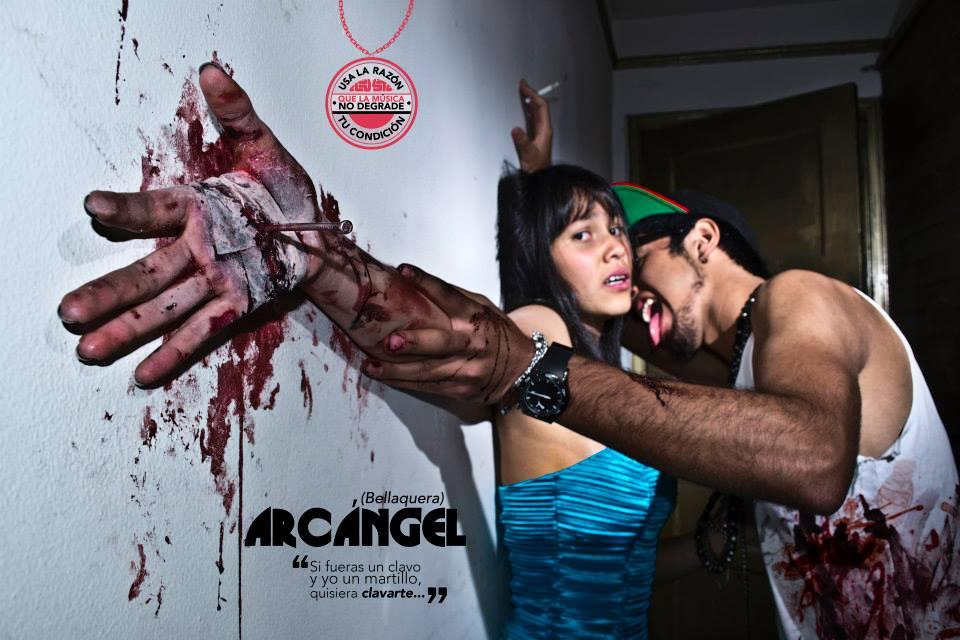 Esta campaña nos muestra 4 durísimas fotografías en contra del reggaeton | The Idealist